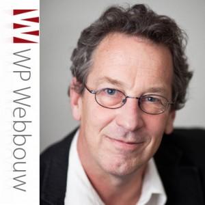Erik de Vries with logo WP Webbouw